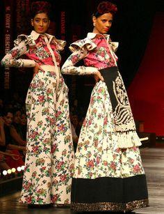 Sabyasachi Mukherjee's 'Frida Kahlo' inspiration