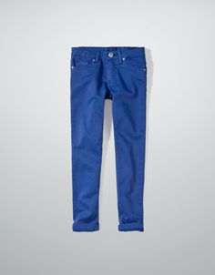 STRETCH TWILL TROUSERS - Trousers - Girl (2-14 years) - Kids - ZARA United States