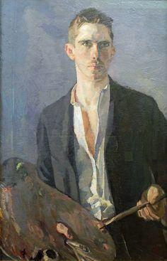 Art - Self-portrait - Albert Weisgerber {German, 1878-1915}, 1908
