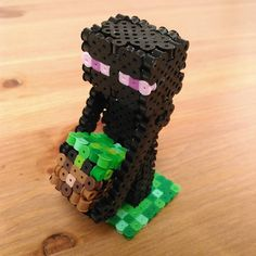 Enderman - Minecraft perler beads by shena_1983
