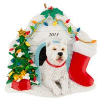 Top Paw® West Highland Terrier Ornament - PetSmart  Variety of breeds available