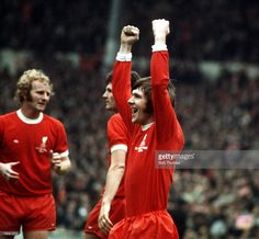 Football 1974 FA Cup Final Wembley Stadium 4th May Liverpool 3 v Newcastle United 0 Liverpool's...