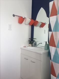 Small bathroom makeover.