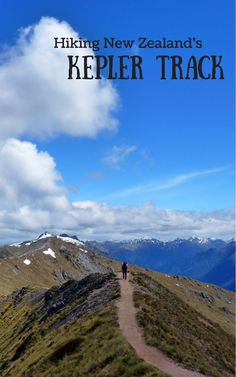 Tramping New Zealand's Kepler Track in Fiordland National Park