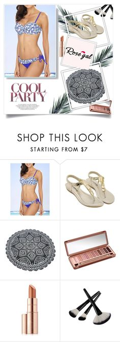 """""""Rosegal bikini sets :)"""" by newoutfit ❤ liked on Polyvore featuring Urban Decay, Estée Lauder, women and rosegal"""