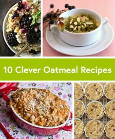 Happy #NationalOatmealDay! Whether you love sweet or savory oatmeal, we promise these clever recipes from @KathEats @Angela Liddon @Chocolate-Covered Katie will keep your tastebuds guessing.  #oatmeal
