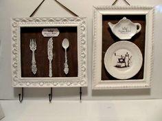 Декупаж - Сайт любителей декупажа - DCPG.RU | панно Click on photo to see more! Нажмите на фото чтобы увидеть больше! decoupage art craft handmade home decor DIY do it yourself plates acryle  print plywood