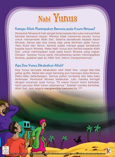 Nabi Yunus dan Kaum Ninawa Ramadan Day, Just Pray, Learn Islam, Islamic Pictures, Stories For Kids, Fun Learning, Preschool Activities, Islamic Quotes, Kids And Parenting