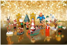 rudolph the red nosed reindeer collectibles | Rudolph the Red-Nosed Reindeer Ultimate Figurine Collection Box Set