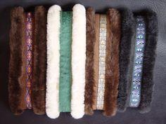 Sheepskin Earmuffs Sheepskin Ear band Sheepskin Neck Warmer Earmuffs, Neck Warmer, Band, Leather, Handmade, Style, Hand Made, Sash, Craft