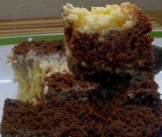 Bolo de chocolate com recheio de beijinho de maracujá e creme de alfarroba com avelã | Receita