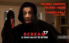 Scream 2017 : Sarkozy. Planquez vous il revient!