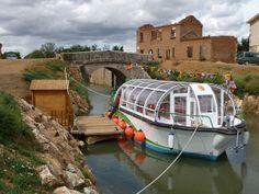 Excursión con niños en barco en Castilla