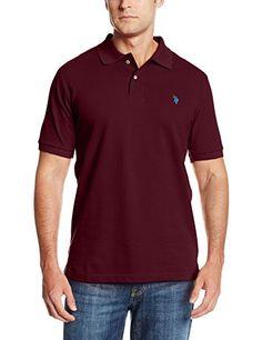 TOPSELLER! U.S. Polo Assn. Men's Solid Polo Shir... $13.41