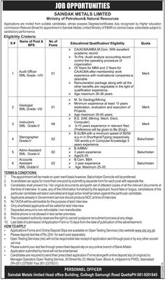 Jobs in Ministry of Petroleum & Natural Resources