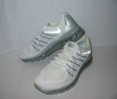 NIKE Air Max 2015 White SHOES Nikelab RARE 698902-100 Mens Size 11 AUTHENTIC NEW