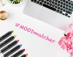 Start the work week off BOLD with your choice of 6 luscious lip colors! #MOODmatcher #lipstick #beauty