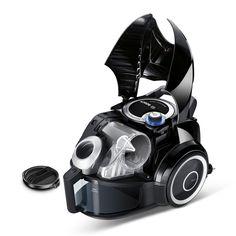Bosch BGS4330 Bodenstaubsauger Runn'n, EEK B (beutellos, SensorBagless Technology, für Allergiker geeignet, platzsparend verstaubar) schwarz