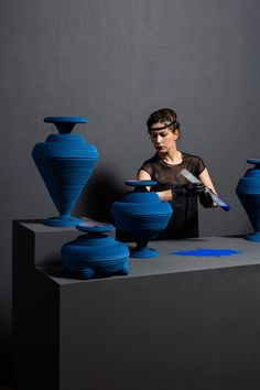 Siba Sahabi's Blue Alchemy References First Man-Made Pigment Developed in 2600 BC | http://www.yellowtrace.com.au/siba-shabi-blue-alchemy/