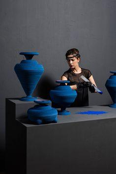 Siba Sahabi's Blue Alchemy References First Man-Made Pigment Developed in 2600 BC | http://www.yellowtrace.com.au/siba-shabi-blue-alchemy/