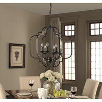 Shop for Carbon Loft Wacker Moroccan Dark Bronze Chandelier. Get free delivery On EVERYTHING* Overstock - Your Online Ceiling Lighting Store! Black Iron Chandelier, Lantern Chandelier, Bronze Chandelier, Iron Chandeliers, Candelabra Bulbs, Chandelier Lighting, Country Chandelier, Room Lights, Ceiling Lights