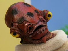 Admiral Ackbar Cereal: now with brine shrimp! Admiral Ackbar, Army & Navy, Star Wars Rebels, Tv Actors, I Laughed, Robot, Brine Shrimp, Funny Pictures, Nerd