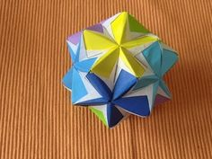 Fora aleta origami-2 dividir volta unidade ①6 cores