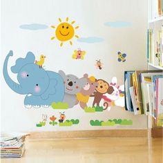 Fuloon Wandtattoo Tiere Wandsticker Kinderzimmer By TopVintage5, U20ac40.00