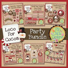 Hot Chocolate Bar Printable Party