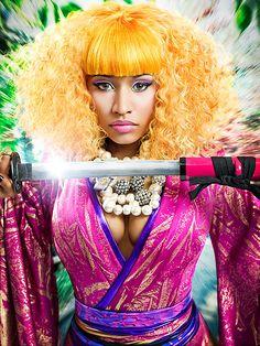 Nicki Minaj by Howard Huang