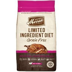 Merrick Limited Ingredient Diet Grain Free Real Turkey and Sweet Potato Recipe Dry Dog Food 12lb *** Details can be found by clicking on the image. (This is an affiliate link)