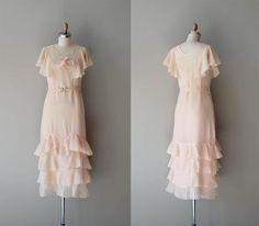 1920s chiffon dress - pretty!