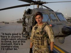 Inside Combat Rescue- SSgt. Trevor. What he wrote in his journal was amazing and this is only part of it.
