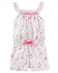 86407afdaf3 Toddler Girl Floral Sun Suit