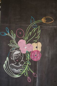 Photo from Steven and Laura wedding collection by Roger Ellsworth. Art work by Cami Robinson. Jina Javier Events, EP Love Wedding, and Modern Bouquet Wedding Chalk Art, Chalk Artist, Special Day, Art Work, Cami, Bouquet, Events, Modern, Painting