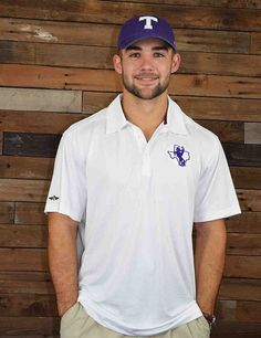Keep it classy Tarleton State in this new TSU performance polo. This polo is perfect for tailgating on Game Day! GO Texans!