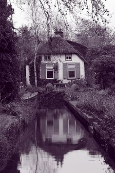 Then it all.... resolved.  And she was here.  With him.  But which man?  And was she happy?  Oh, yes.  Yes.     Fairytale House by Ionut Iordache, via Flickr