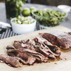 Grilled Chili-Spiced Flank Steak