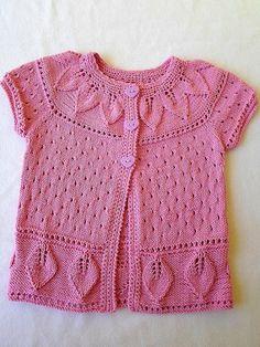 Lindo chaleco rosa