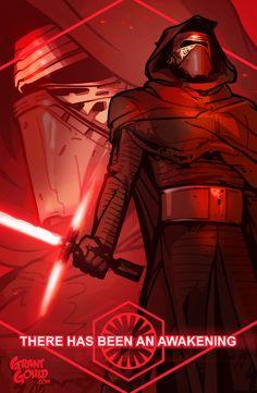 Kylo Ren: The Force Awakens by grantgoboom.deviantart.com on @DeviantArt