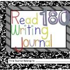 Writing Journal for the Read 180 {Stage A} Classroom                                      FREEBIE