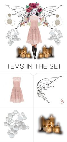 """fairy"" by abandoned-leftpolyvore ❤ liked on Polyvore featuring art"