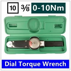 MXITA Dial torque spanner High-precision pointer torque wrench 3/8 0-10nm