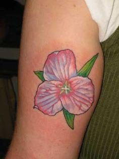 Trillium tattoo