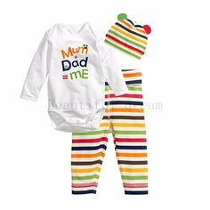 Your day won't be complete without this! Baby CottonMum Da... http://simplyparisboutique.com/products/baby-cotton-stripes-mum-dad-and-me-print-o-neck-bodysuit-stripedpants-and-hat-set?utm_campaign=social_autopilot&utm_source=pin&utm_medium=pin
