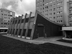 Broadwater Farm Estate, Boiler House, Haringey, London; London Borough of Haringey Architects' Department, 1967-73 Photo: Simon Phipps