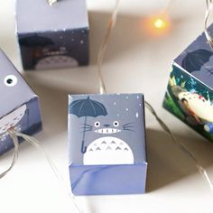 Totoro night lights perfect little lights on a rainy day