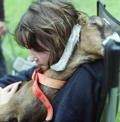 hugs...Miss doing this with my girls and boys. Goats I mean.