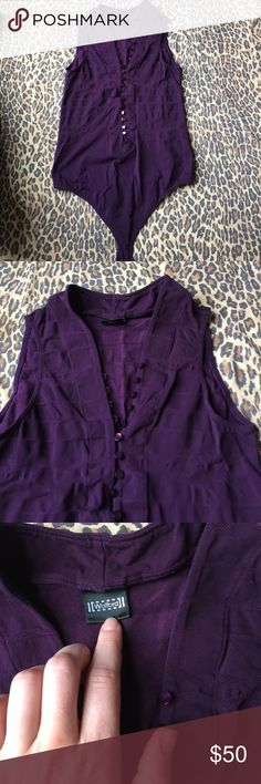 Wolford Eggplant body suit. Wolford bodysuit. Size S. wolford Tops