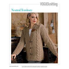 Vogue Knitting - Patterns